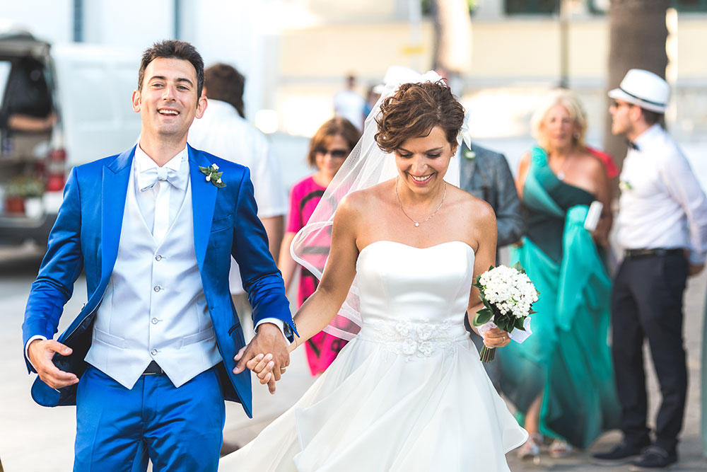 Italian Catholic Wedding in Paros