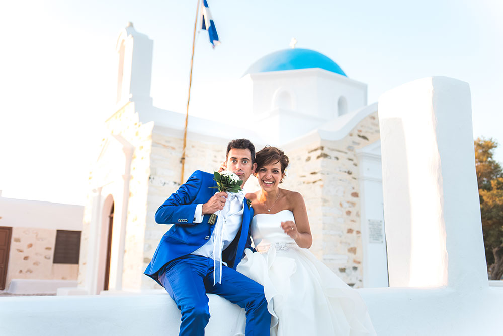 Wedding Photographer in Paros Greece