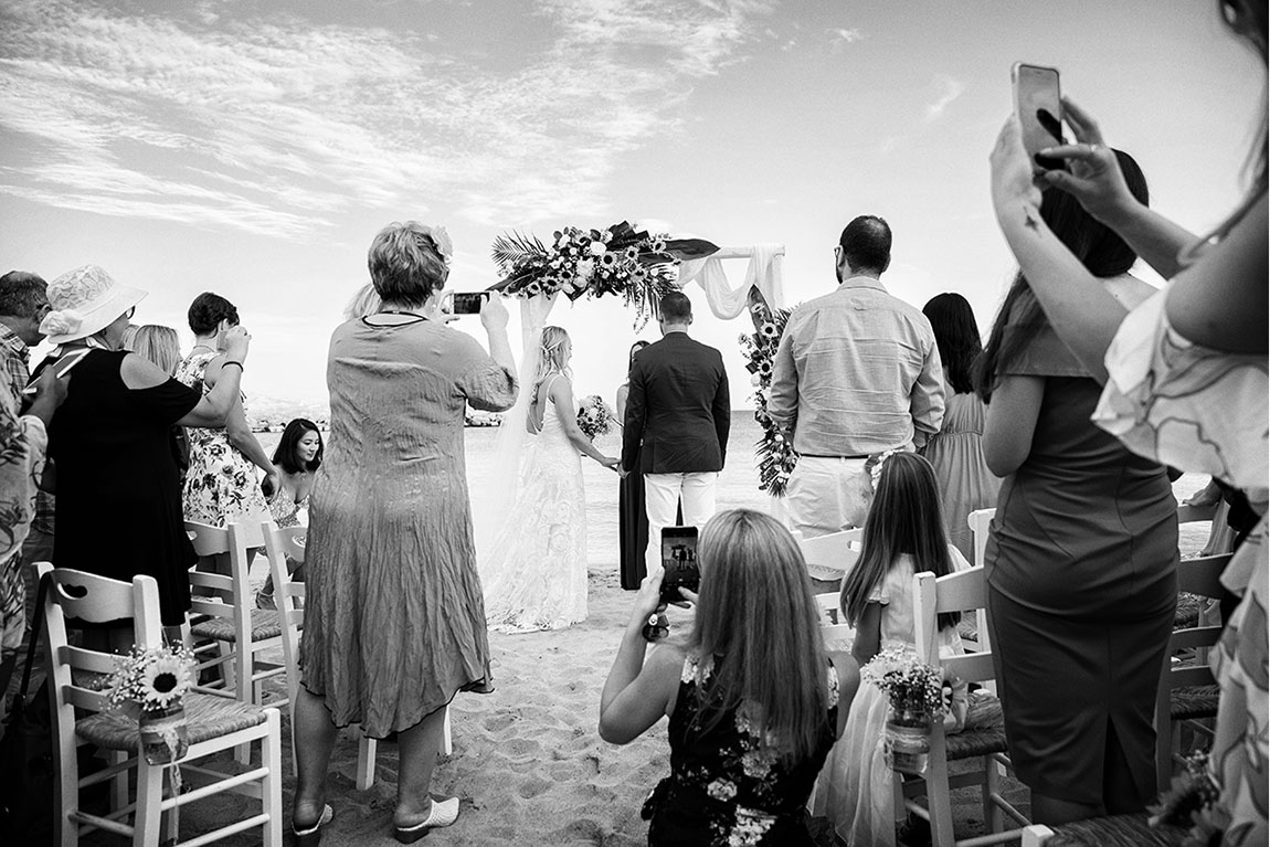 Wedding Photojournaism Paros