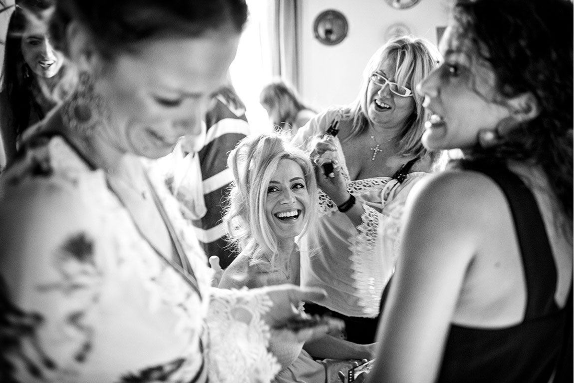 Documentary Wedding Photography Paros