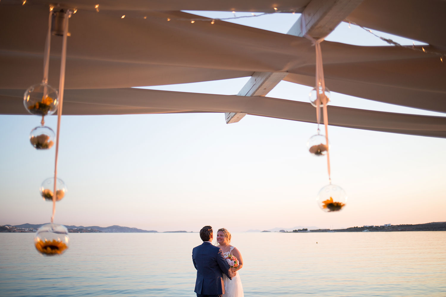 Couple shoot in Paros Island Greece