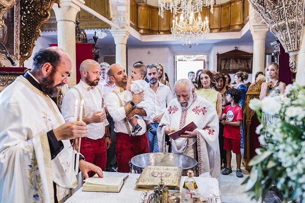 Βάπτιση στην Άνδρο
