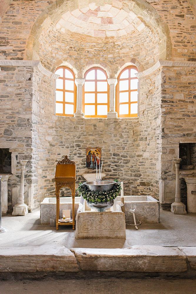 Βάπτιση Εκατονταπυλιανή Πάρος