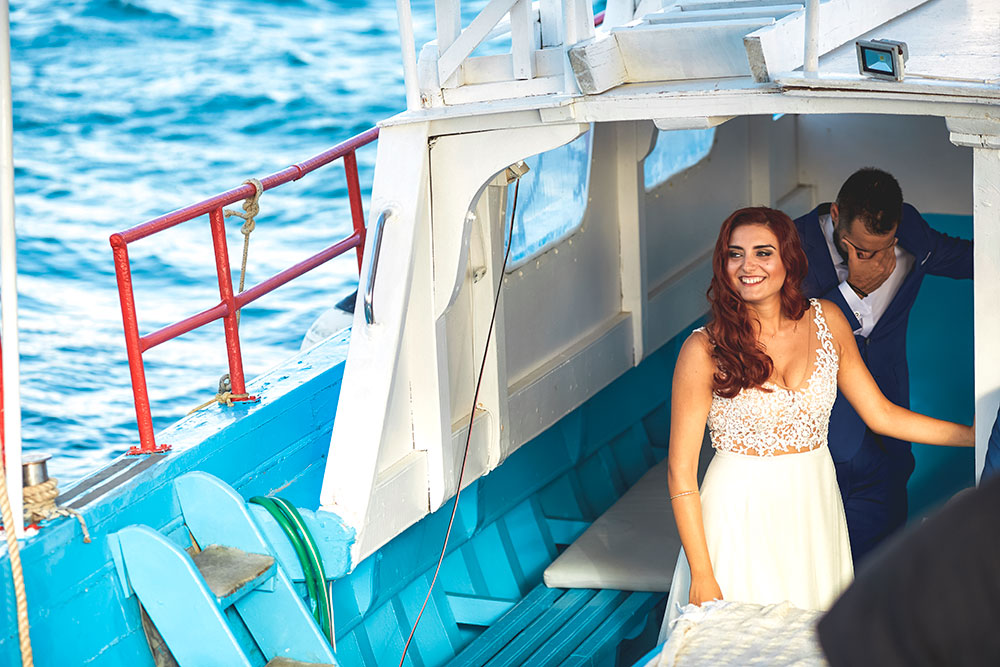 Wedding in Paros - Agios Fokas