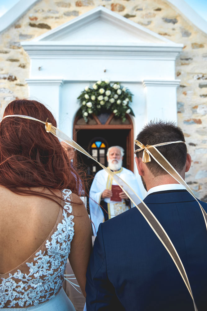Wedding in Paros Greece