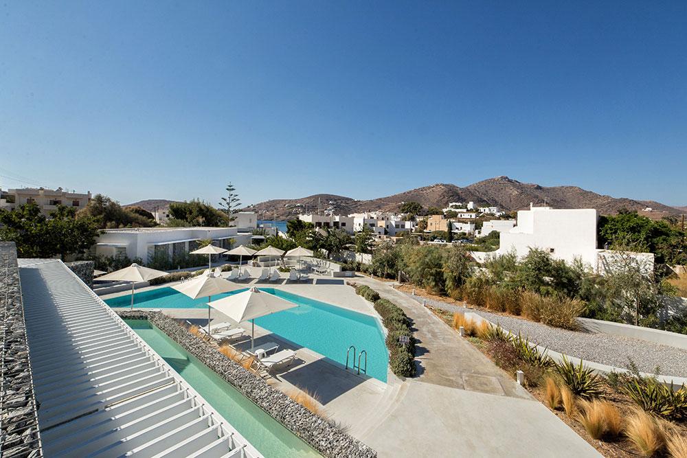 Relux Hotel in Ios Island