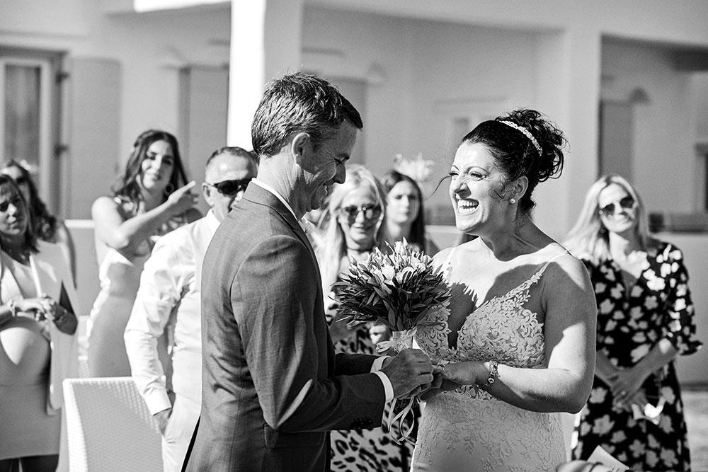 Small Symbolic Wedding in Paros