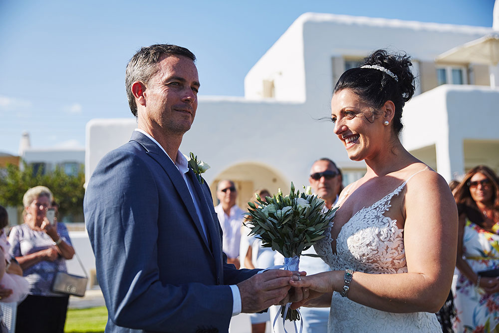 Small Symbolic Wedding in Paros