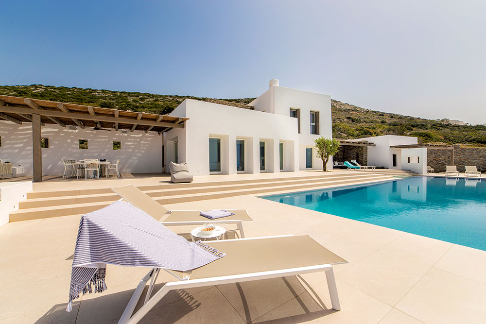 Spacious Villa Photography in Paros