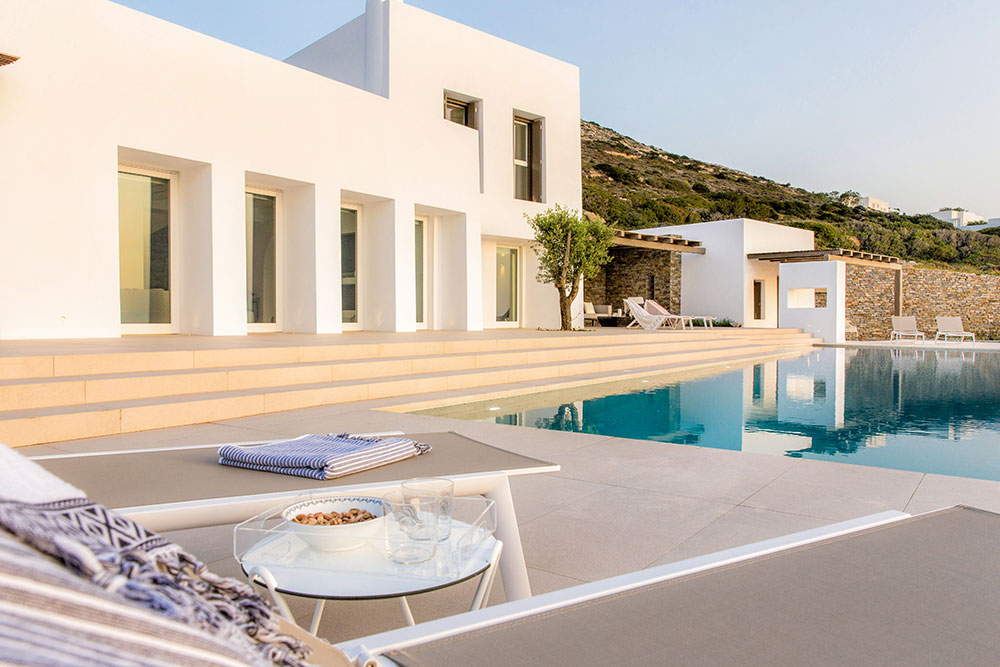 Architectural photographer in Paros